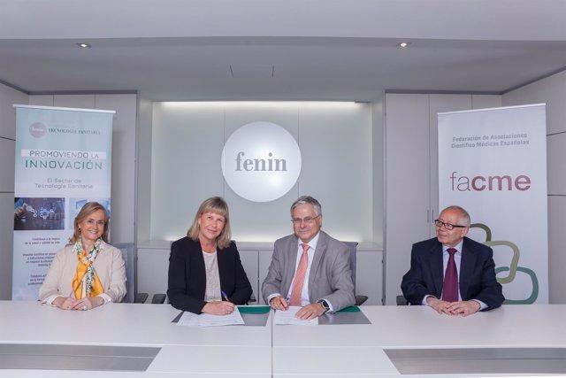 Acuerdo entre Fenin y FACME