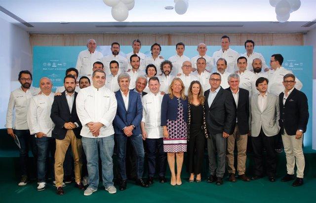 Celebración del proyecto 'Chefs and kids' en Marbella