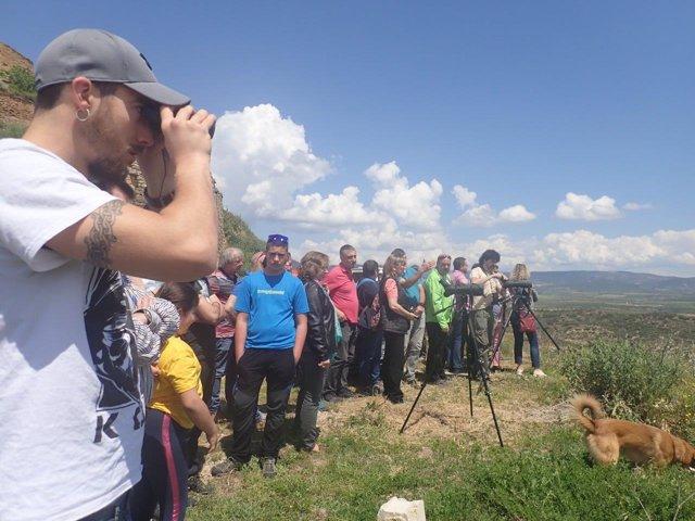 Elizalde Ha Participado En La Observación De Aves.