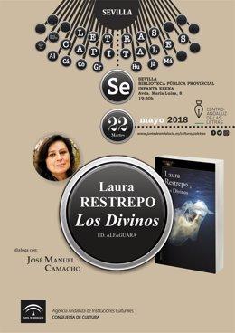 Laura Restrepo presenta su nueva novela en Sevilla