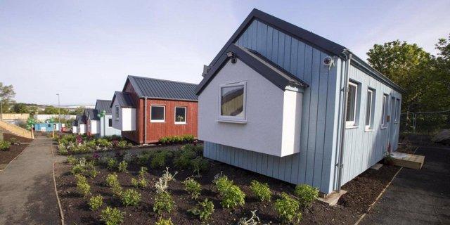 Casas para personas sin hogar en Edimburgo