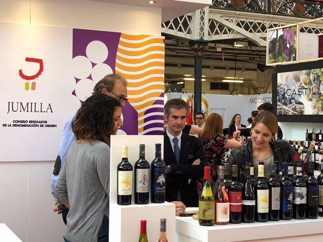 Del Amor asiste a la feria 'London Wine Fair'
