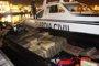 La Guardia Civil de Ceuta intercepta en el Estrecho una 'narcolancha' con 4.121 kilos de hachís