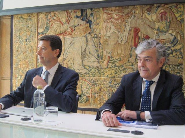 Rafael Domenech (BBVA Research) y Carlos Gorria (BBVA)