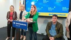El PDeCAT defensa mantenir la restitució d'exconsellers malgrat el rebuig del Govern central (EUROPA PRESS)