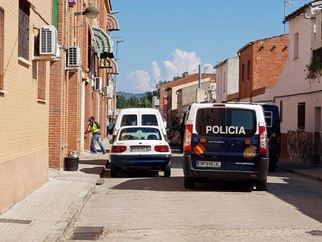 Operación en el barrio de Patrocinio de Talavera de la Reina