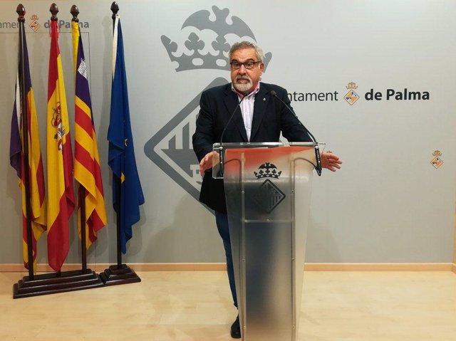 Cs Palma censura que el requisito del catalán a enterradores no haya pasado por el comité de empresa