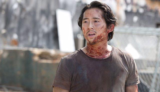 Steven Yeun en The Walking Dead