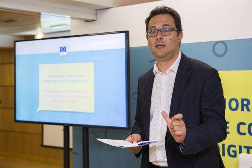 Jefe prensa de la Representación de la Comisión Europea en España, Dimitri Barua