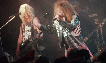 Guns n' Roses estrenan al fin 29 años después el vídeo 'olvidado' de It's so easy
