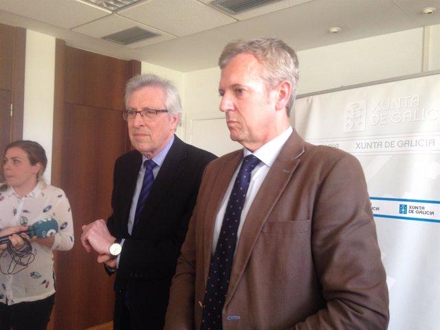 Alfonso Rueda y Miguel Ángel Cadenas, comisión mixta justicia