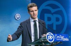 El rector de la URJC ordena obrir una investigació sobre els estudis de Pablo Casado (EUROPA PRESS)
