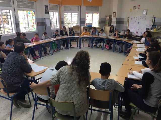 El CEIP La Rábida en El Campillo acoge el primer encuentro Escuelas Mentoras.