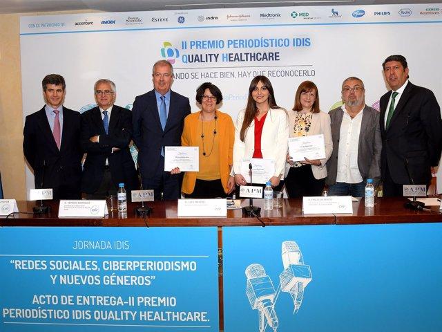 II Premios de Periodismo de la Fundación Idis