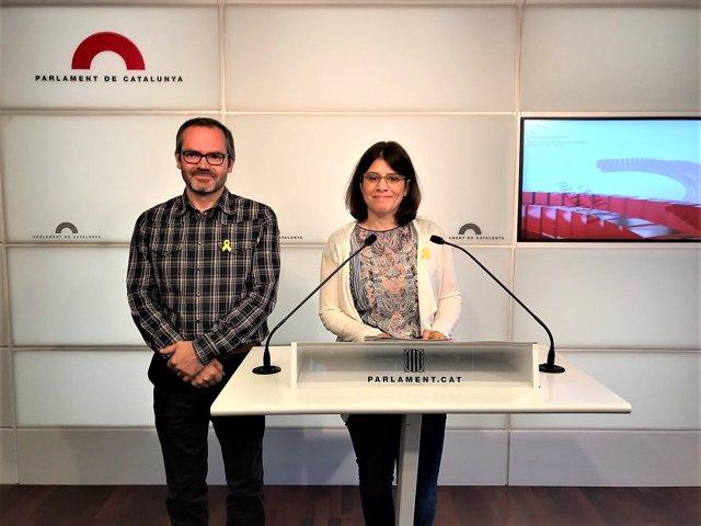 Josep Costa, Gemma Geis, JxCat