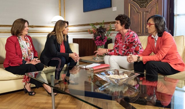 Susana Díaz se reúne con Acnur