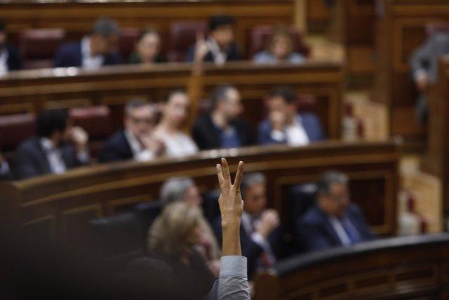 Votación en el Congreso del decreto de la estiba