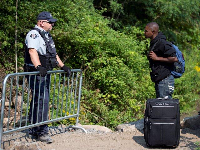 Inmigrante haitiano en Québec