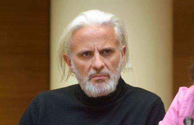 Marcos Benavent en una reciente comparecencia en Les Corts