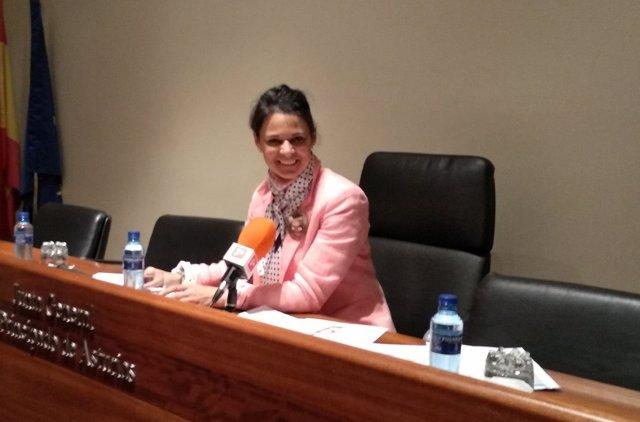 La diputada de Ciudadanos en la JGPA, Diana Sánchez