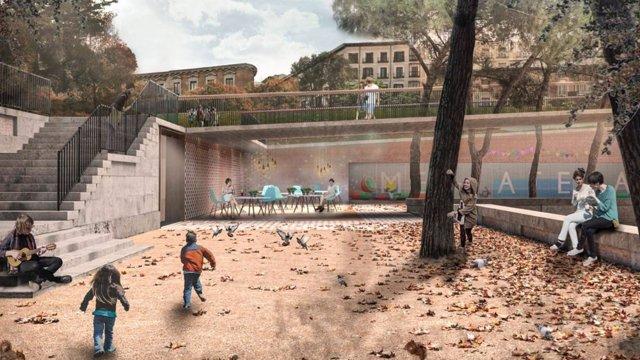 El Ayuntamiento De Madrid Licitara Las Obras De Plaza De Espana En Breve Para Adjudicarlas Antes De Final De Ano