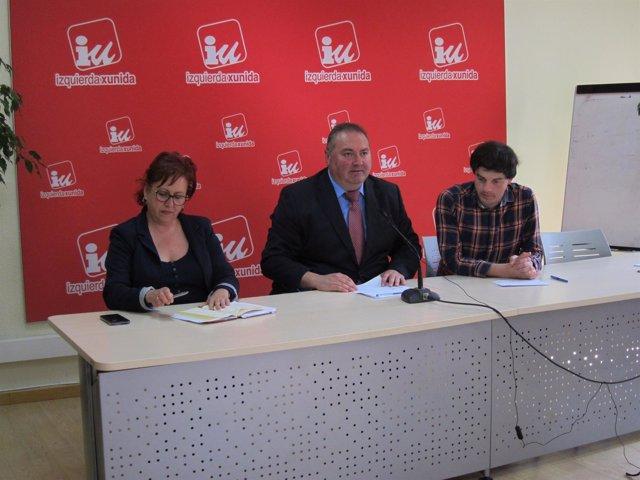 El coordinador general de IU en Asturias, Ramón Argüelles