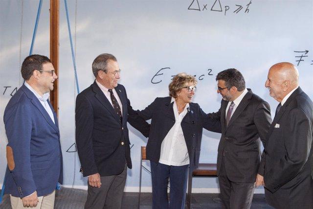 A.Ruiz, V.Grífols, M.Boada, À.Font y L.Tárraga