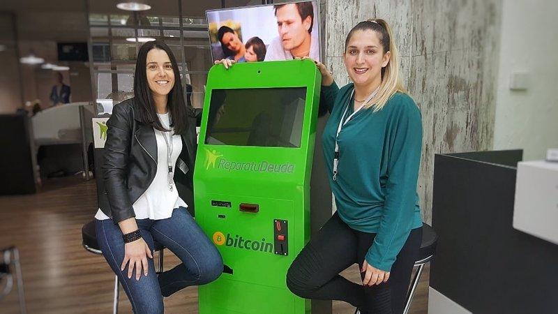 Comunicado repara tu deuda instala cajeros bitcoin en sus for Oficinas y cajeros