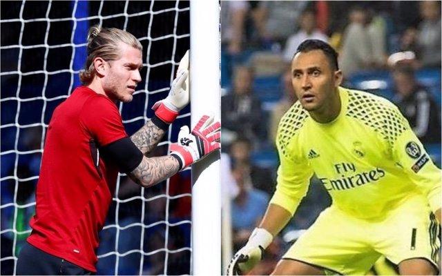 Karius (Liverpool) y Keylor Navas (Real Madrid)
