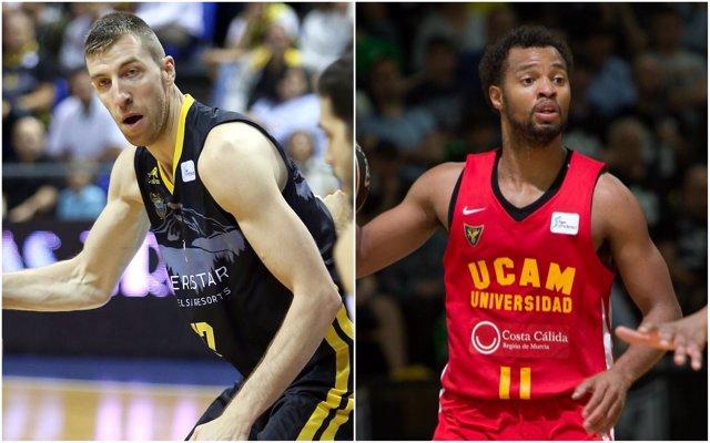 Iberostar Tenerife y UCAM Murcia pelean por la última plaza de 'Playoff'