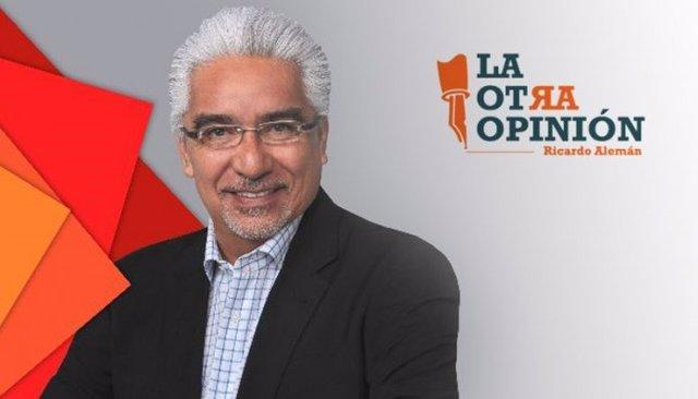 El periodista Ricardo Alemán