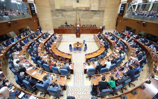 Garrido se enfrenta este jueves a su primer Pleno como presidente, donde le preguntan cómo recuperar la 'credibilidad'