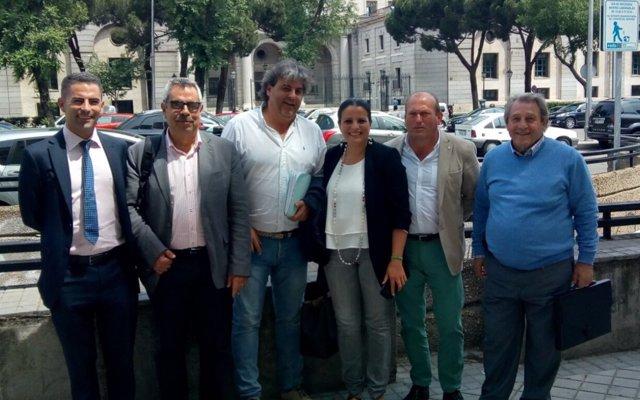 La alcadesa de Almonte y el subdirector de Protección de  Costas analizan las actuaciones en Matalascañas