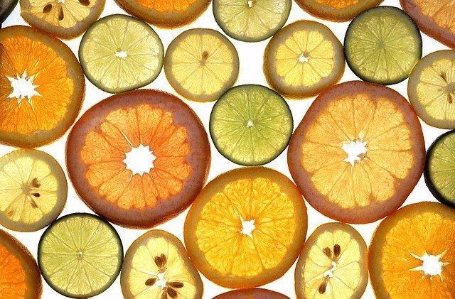 Cítricos, naranjas, limones, limas, naranja, limón, lima