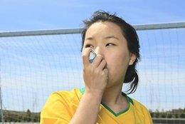 Asma, inhalador