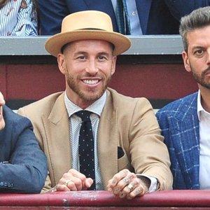 Sergio Ramos apuesta por la elegancia para una tarde de toros en Las Ventas