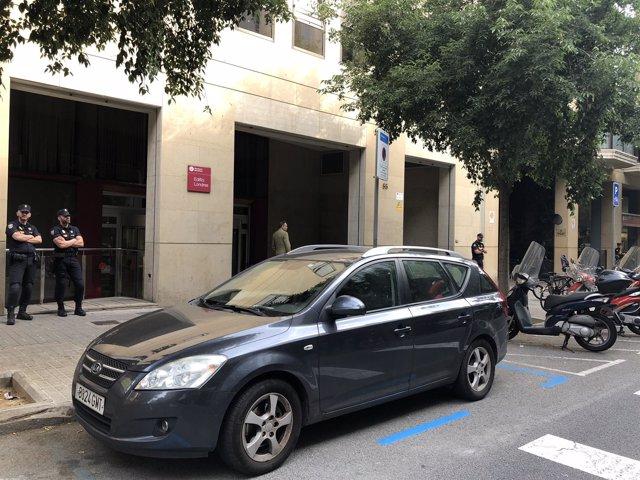 Registro en la Diputación de Barcelona