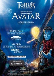 Cirque du Soleil torna a Barcelona el 2019 amb el seu espectacle inspirat en 'Avatar' (LIVE NATION)