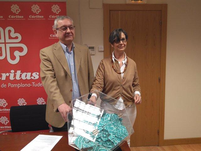 Ángel Iriarte Y Ana Urmeneta, De Cáritas