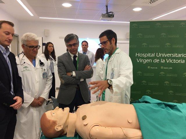 Robot prácticas especialistas anestesiología