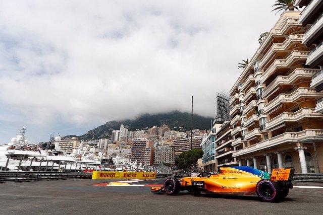 Vandoorne (McLaren) en Montecarlo