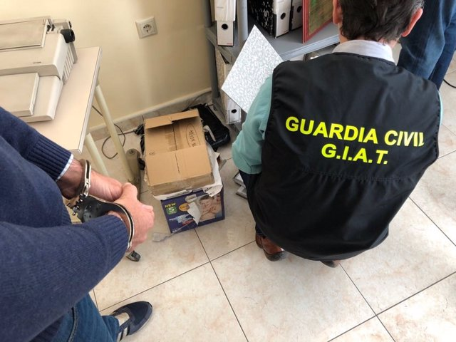 Agente del GIAT de la Guardia Civil