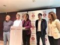 MERCÈ CONESA LAMENTA LA INDEFENSION DE LA DIPUTACION DE BARCELONA