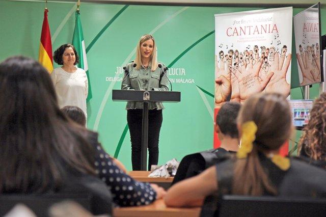 Presentación del concierto de escolares en Torremolinos