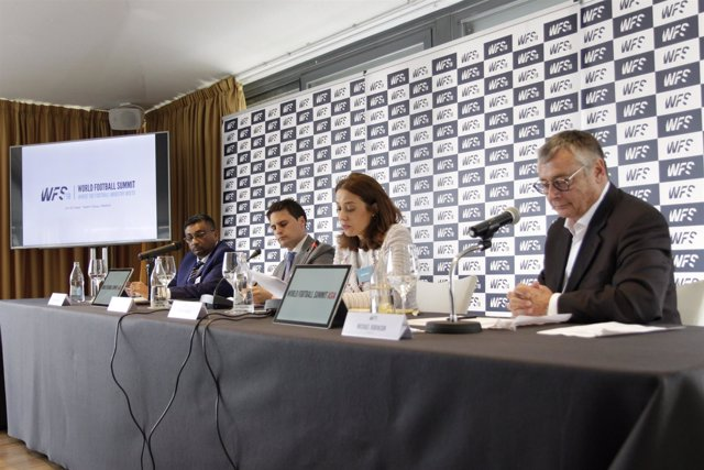 Presentación World Football Summit 2018