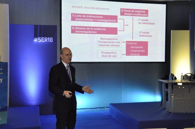 Presentación de una aplicación móvil de la SER