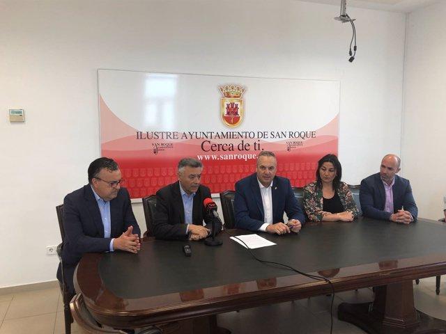Reunión del Consorcio de Transporte del Campo de Gibraltar