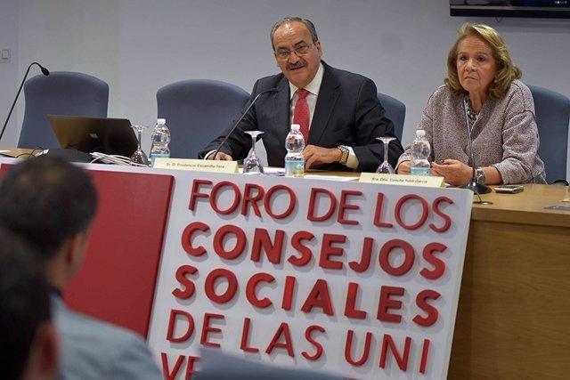 Presentación de proyectos emprendedores de universidades andaluzas
