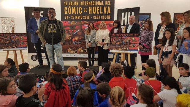 Presentan la 12 edición del Salón Internacional del Cómic de Huelva.