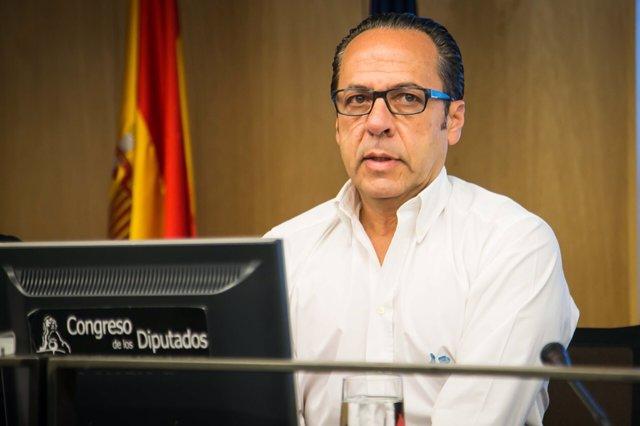 Álvaro Pérez 'El Bigotes' en una imatge recent en el Congrés
